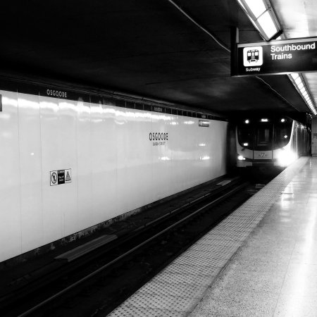 flyingonemptythoughts subway toronto black and white photography #Toronto #photography