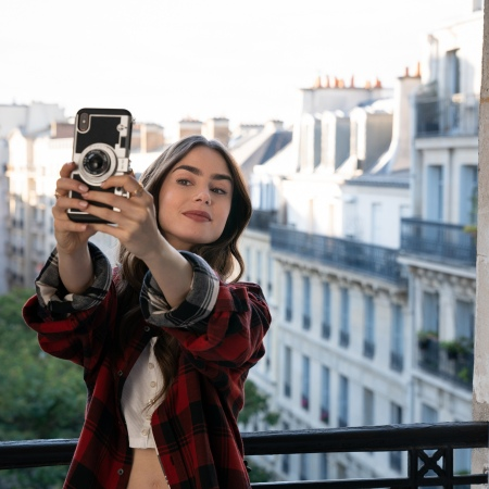 emily in paris lily collins | best rom-coms on netflix